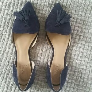 Vince Camuto flat shoes genuine suede S 6.5